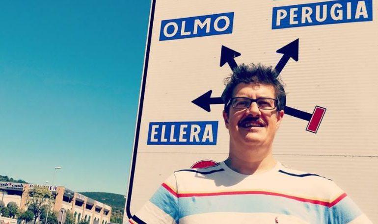 Gabardini-Olmo lascia Camera Cafè: e spunta il cartello stradale di Ellera