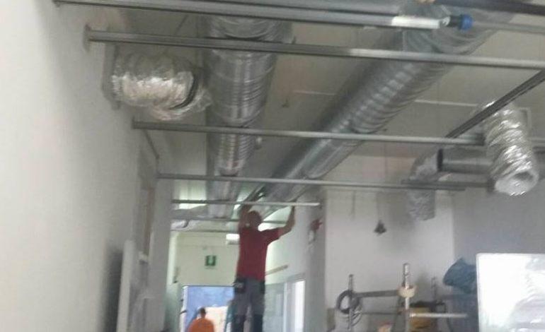 La scuola Bonfigli perla dell'efficienza energetica: lavori a pieno ritmo in vista della prima campanella