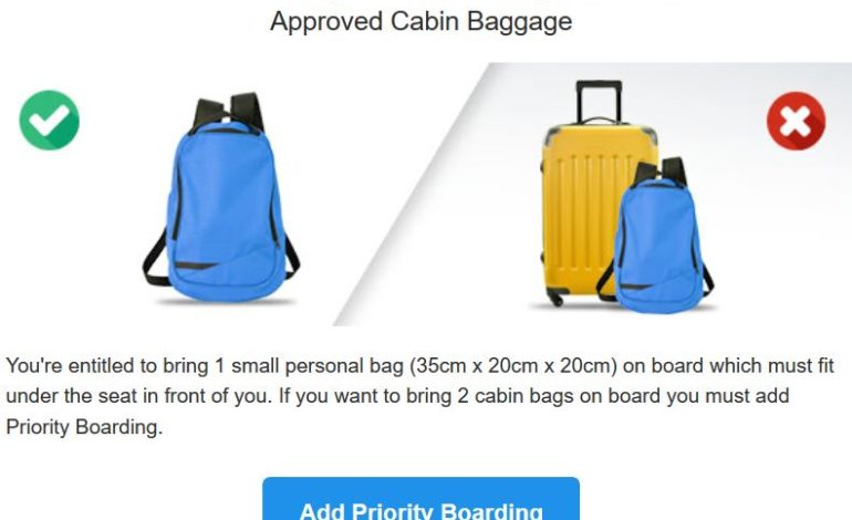 bagagli bagaglio a mano cabina politica bagagli ryanair trolley corciano-centro cronaca glocal