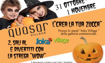 """Halloween al Quasar Village con la strega """"Wow"""""""