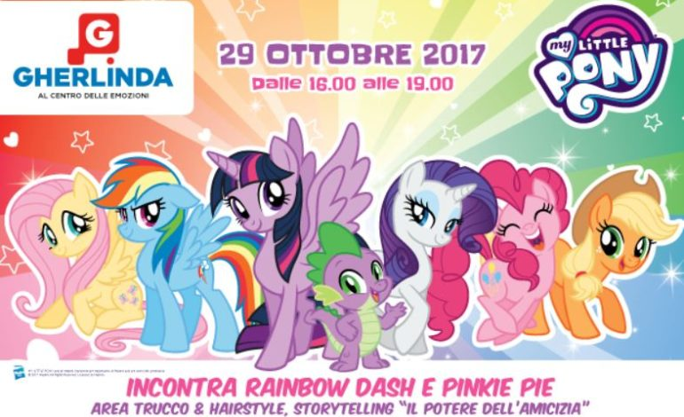 bambini gherlinda my little pony Pinkie Pie Rainbow Dash eventiecultura