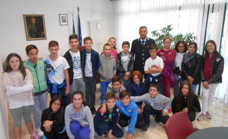 bonfigli comandante maccari municipale polizia locale scuola visita corciano-centro cronaca san-mariano