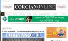 Nuovo sito per Corcianonline: il giornale web rinnova grafica e contenuti