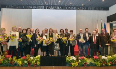Due imprese corcianesi ricevono il premio della Camera di Commercio di Perugia
