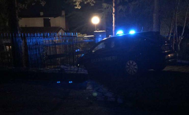 carabinieri colle della trinità furto ladri sicurezza cronaca ellera-chiugiana