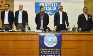 """""""Sfida a Centrosinistra e Cinquestelle"""": Fratelli d'Italia elegge i delegati perugini in vista del congresso nazionale"""