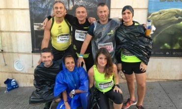 I L'Unatici Ellera Corciano si sono fatti onore in Spagna alla maratona di Valencia