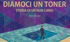 """""""Diamoci un toner"""" di Vito Cioce alla Biblioteca """"G. Rodari"""", dialogo tra l'autore e la scrittrice Irene Di Liberto"""