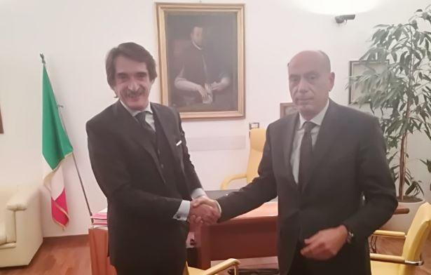 Giustizia: il questore Perugia saluta il procuratore Cardella