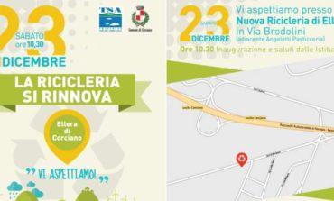 Nuova ricicleria a Ellera: inaugurazione il 23 dicembre
