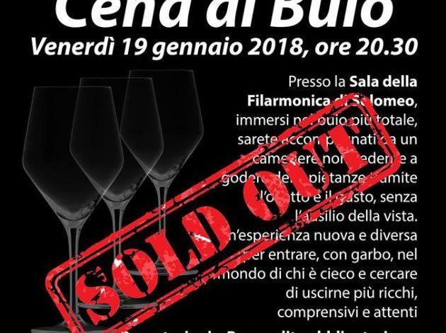 cena al buio filarmonica ovus unione italiana ciechi eventiecultura solomeo