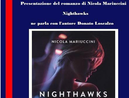"""Nicola Mariuccini presenta il libro """"Nighthawks"""", giovedì nella rassegna di Convivium"""