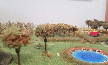 Scuola: ecco i magnifici paesaggi realizzati con materiale di scarto dagli studenti del Bonfigli