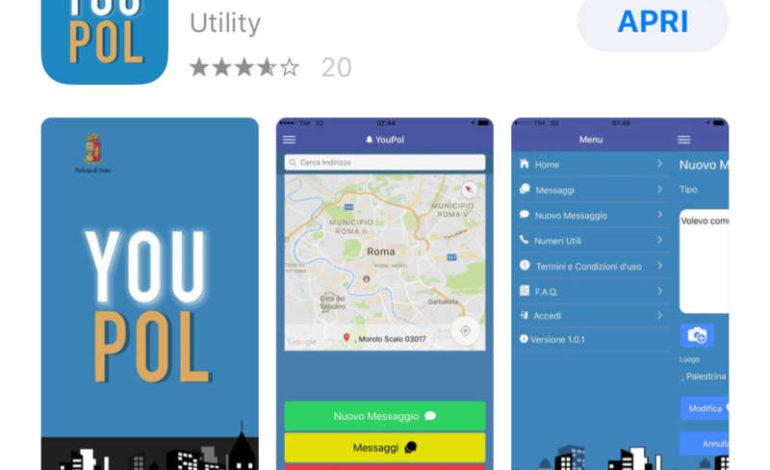 """Presentata """"youpol"""" l'applicazione che consente segnalazioni e richieste in tempo reale al 113"""