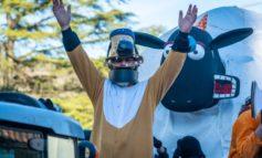 Carnevale di Mantignana, la sfilata dei carri è un successo strepitoso: ecco le le foto