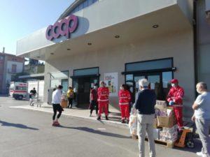 comitato soci coop ellera coop coronavirus croce rossa italiana donazione cronaca ellera-chiugiana