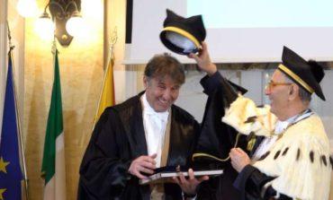 Brunello Cucinelli riceve il dottorato honoris causa in filosofia all'UniMe