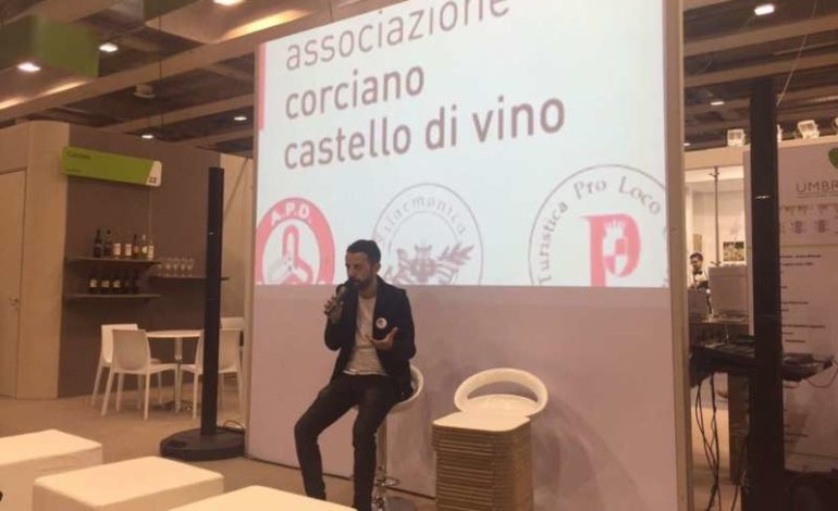 Vinitaly: Corciano Castello di Vino ospite del padiglione Umbria