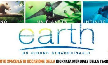 """Giornata della Terra: al The Space arriva il documentario """"Earth - Un giorno straordinario"""""""