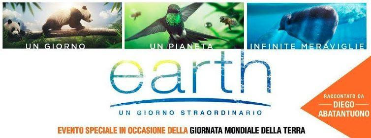 """Giornata della Terra: al The Space arriva il documentario """"Earth – Un giorno straordinario"""""""
