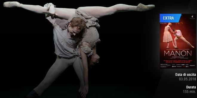 balletto manon royal opera house the space eventiecultura