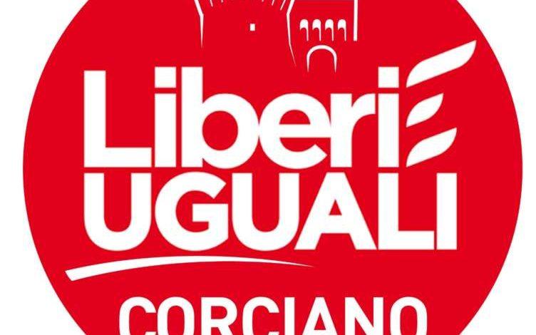 Elezioni comunali: Liberi e Uguali ha depositato la lista per Corciano