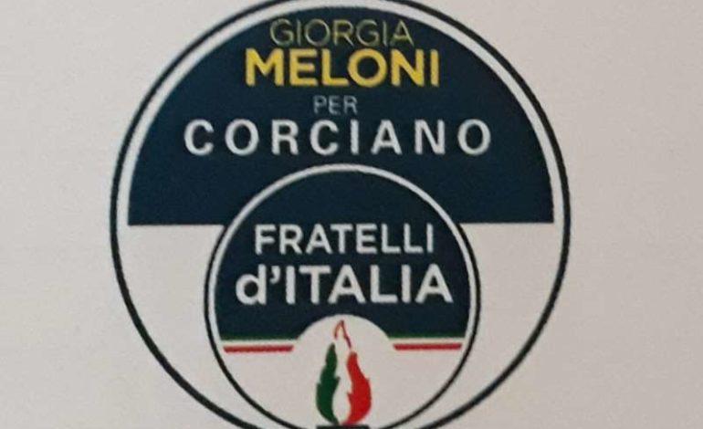 Elezioni comunali: ecco la lista di Fratelli d'Italia per Corciano