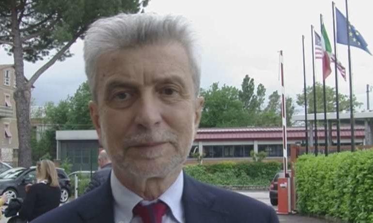 Cesare Damiano a Ellera parla dell'accordo tra Confindustria e Cgil, Cisl e Uil