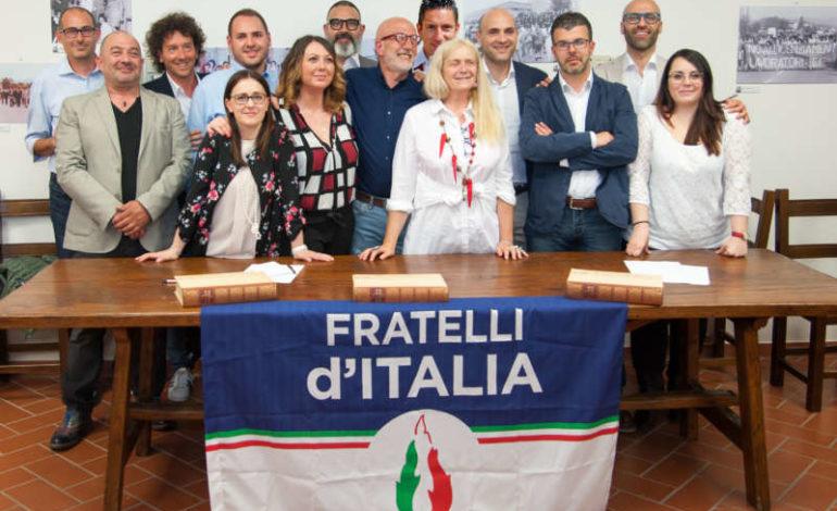 10 giugno amministrative 2018 elezioni comunali fd'i franco testi fratelli d italia cronaca