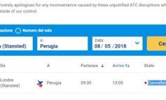 Aeroporto dell'Umbria: sciopero dei controllori, salta il volo su Londra