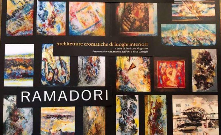 Architetture cromatiche di luoghi interiori arte ferruccio ramadori mostra mugnano quadri eventiecultura