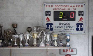 Bocce: tutto pronto per la Coppa Italia, l'Aper Capocavallo c'è