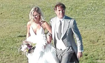 Le nozze di Carolina Cucinelli, ricevimento nel vigneto di famiglia