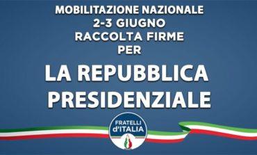 Italia Repubblica Presidenziale: anche a Corciano si raccolgono le firme nell'iniziativa di Fratelli d'Italia
