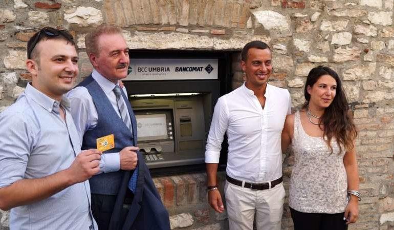 bancomat BCC Umbria corciano-centro economia