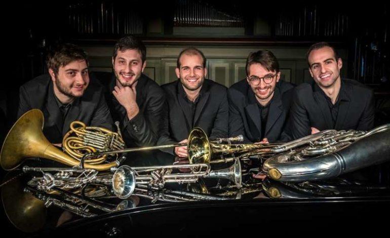 Billi Brass Quintet cinema corciano festival musica taglio del nastro eventiecultura