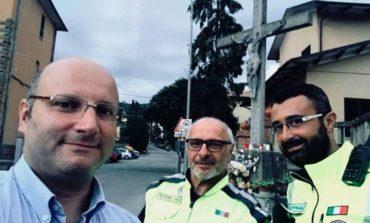 """La Protezione Civile di Corciano a supporto della """"Notte Azzurra"""" di Passignano."""