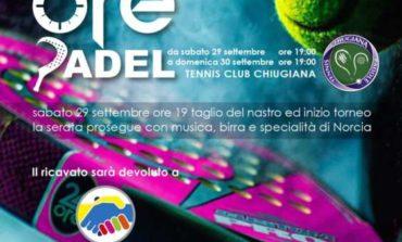 Jack Sintini organizza la 24 ore di padel: evento di solidarietà al Tennis Club Chiugiana