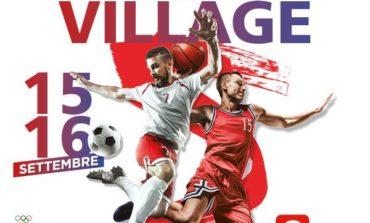 Lo Sport village 'Forza e coraggio' sbarca al Gherlinda