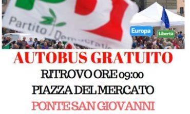 """Il Partito Democratico a Roma """"per un paese più giusto"""", si parte anche da Corciano"""