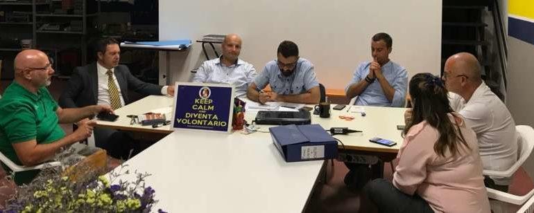 La ProCiv incontra il Comune. Tra progetti e campagna promozionale sul Piano di Protezione Civile Multirischio