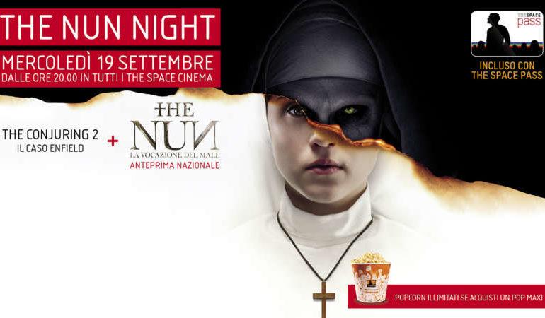 Horror night nei cinema The Space, ecco il terrificante doppio appuntamento