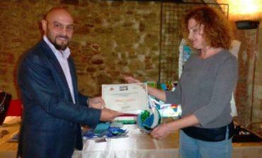 L'opera dei Vetrai: una corcianese vince a Piegaro il primo premio dell'estemporanea