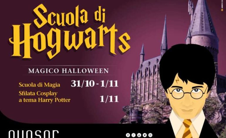 Halloween: Harry Potter sbarca a Corciano