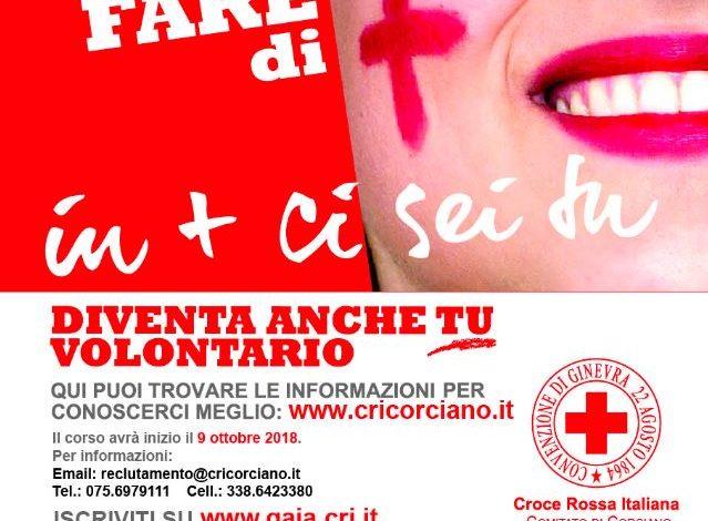 Croce Rossa: a Ellera parte il corso di reclutamento volontari