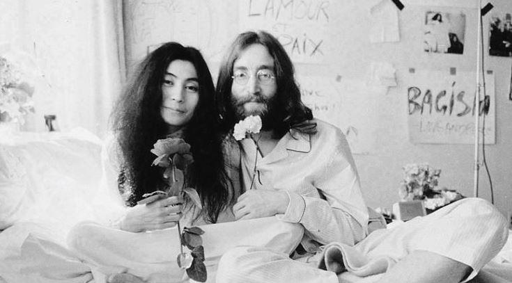 docufilm Grammy Imagine John Lennon the space cinema Yoko Ono eventiecultura