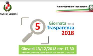 Torna la Giornata della Trasparenza Amministrativa