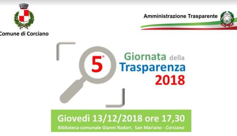 amministrazione comune giornata trasparenza programma cronaca