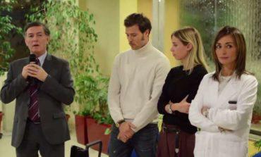 """Carolina Cucinelli e Alessio Piastrelli donano la """"Family Room"""" all'ospedale di Perugia"""