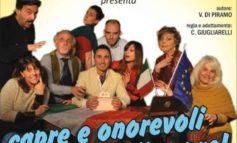 """""""Capre e onorevoli o onorevoli capre!"""" arriva il nuovo spettacolo de """"Il Carro"""" in scena al Teatro Arca"""